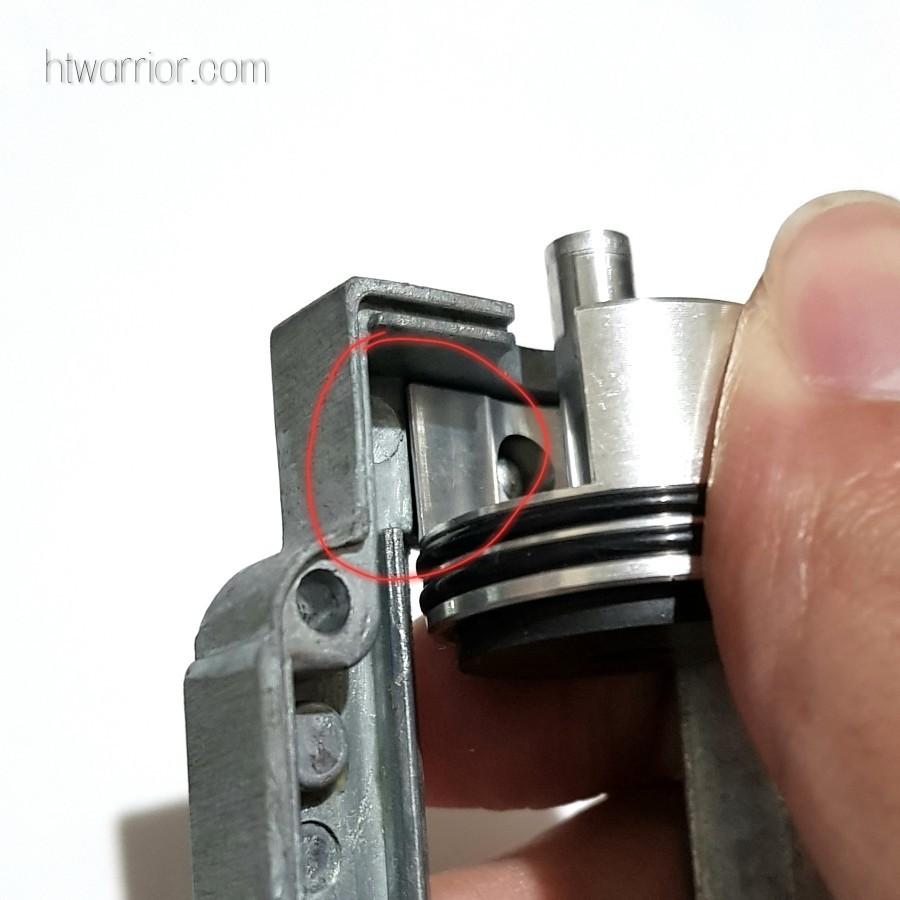 Cylinder head rotation